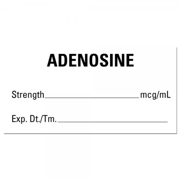 ADENOSINE Medical Healthcare Labels