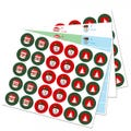 To/From Holiday Labels and Envelope Seals - 4 Pack