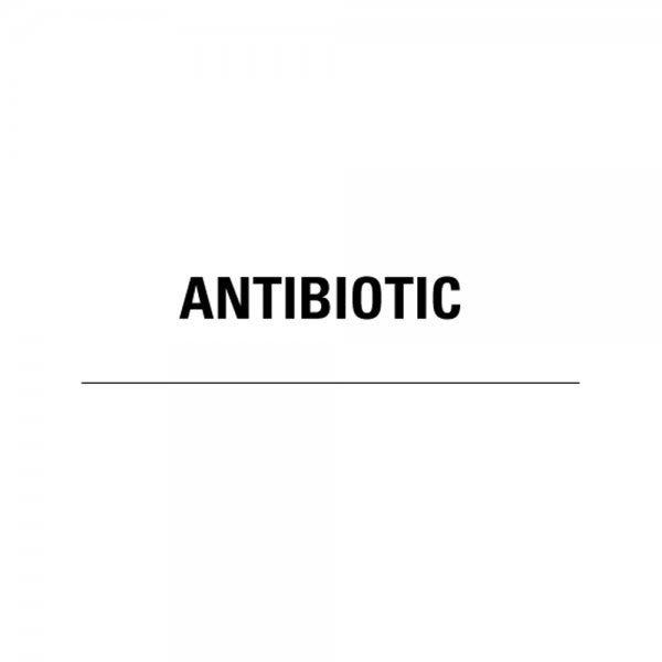 ANTIBIOTIC Medical Healthcare Labels