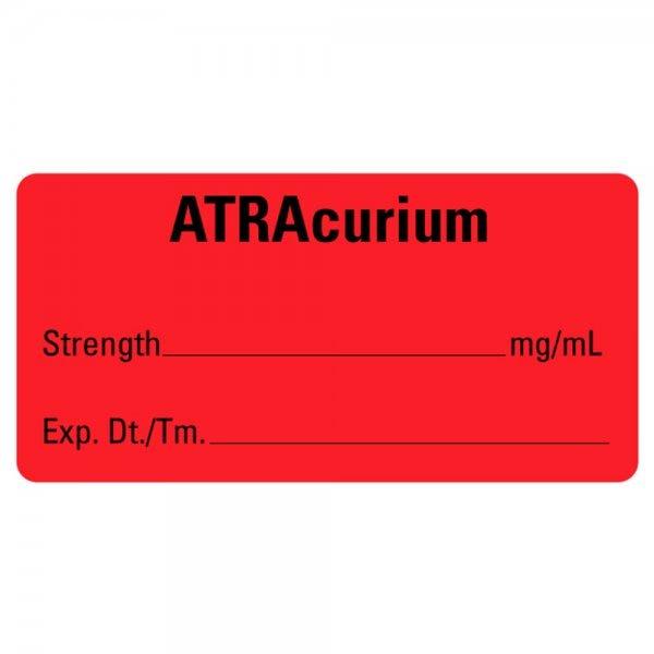 ATRAcurium Medical Healthcare Labels