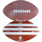 Big Football Luggage Tag