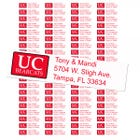 University of Cincinnati Bearcats Custom Return Address Labels