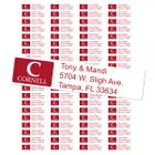 Cornell University Custom Return Address Labels