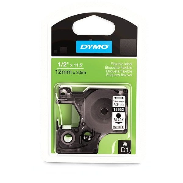 "Dymo 16953 Flexible Nylon - 1/2"" Tape"