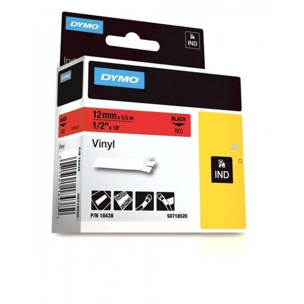 """Rhino Red Vinyl 1/2"""" (12mm) Tape"""
