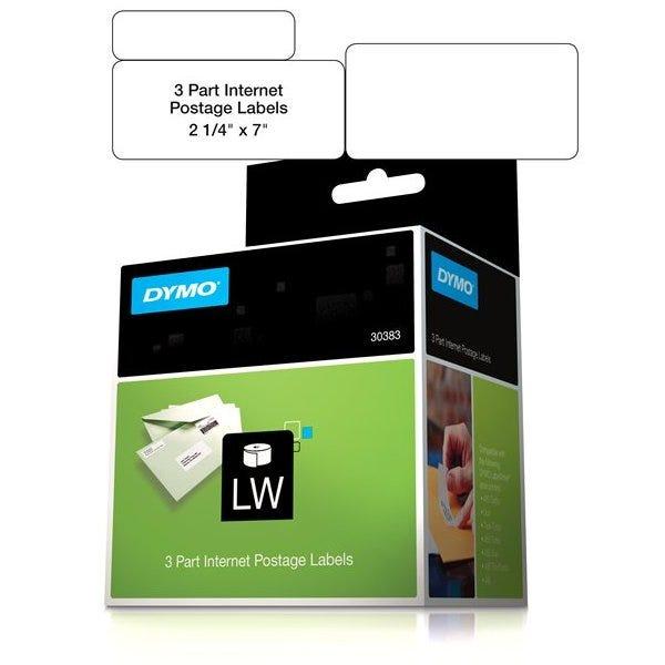 Dymo 30383 Internet Postage Labels - 3-Part