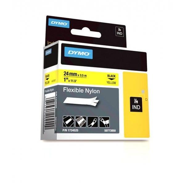 "Yellow Flexible Nylon Tape 1"" (24mm)"