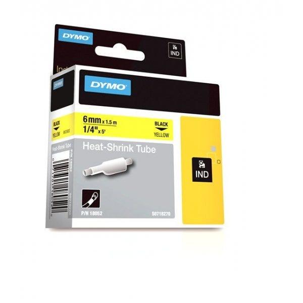 """Rhino 1/4"""" Yellow heat shrink tube (6mm)"""