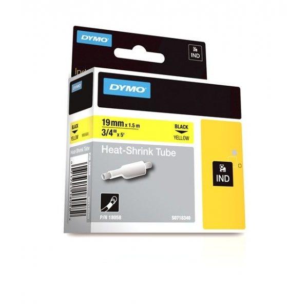 """Rhino 3/4"""" Yellow Heat Shrink Tubes (19mm)"""