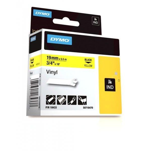 """Rhino Yellow Vinyl 3/4"""" (19mm) Tape"""