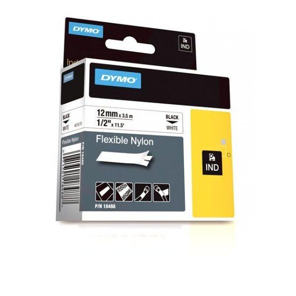 "White Flexible Nylon Tape 1/2"" (12mm)"