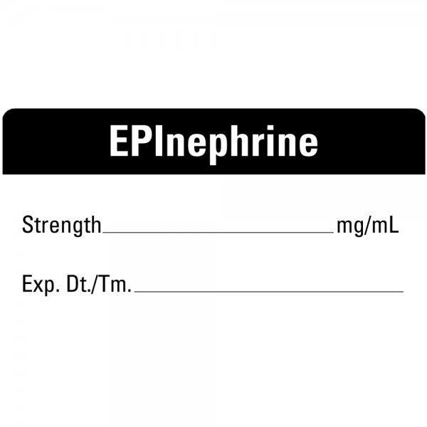 EPInephrine Medical Healthcare Labels