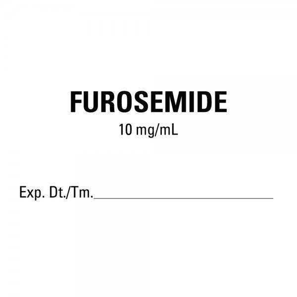 FUROSEMIDE Medical Healthcare Labels