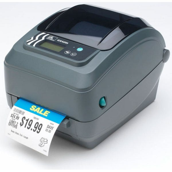 Zebra GX420t Label Printer GX42-102412-000