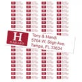 Harvard University Custom Return Address Labels