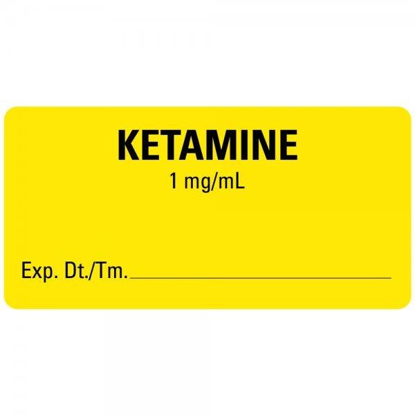KETAMINE Medical Labels