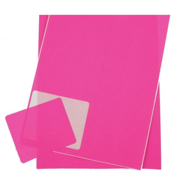 Florescent Pink Shipping Labels for Inkjet or Laser Printers