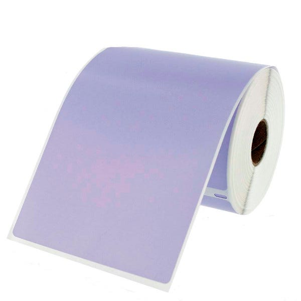 Dymo LV-1744907 Lavender 4x6 Compatible Labels