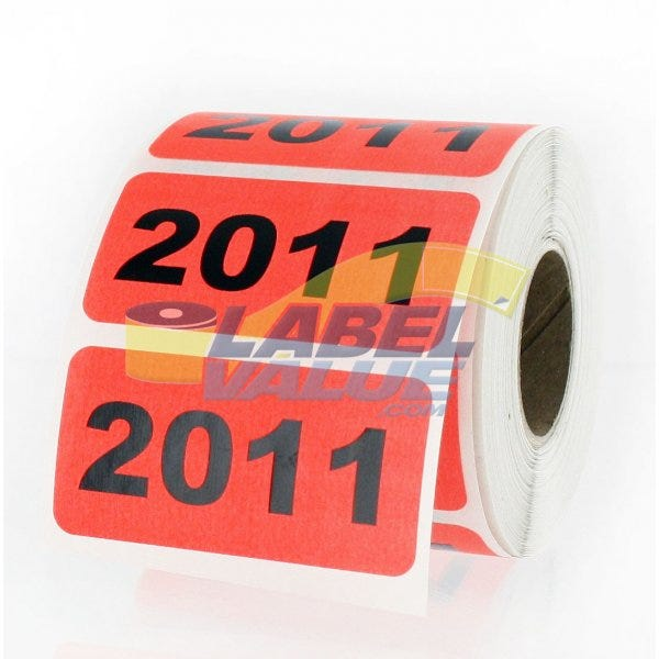 "2011 Inventory Labels 2"" x 1"""