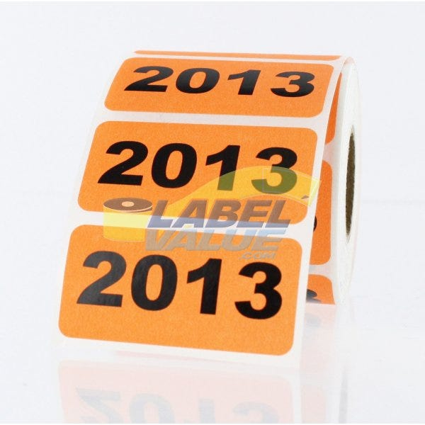 """2013 Inventory Labels 2"""" x 1"""""""