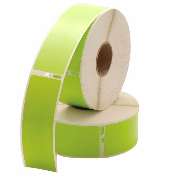 Dymo LV-30252 Green Compatible Address Labels
