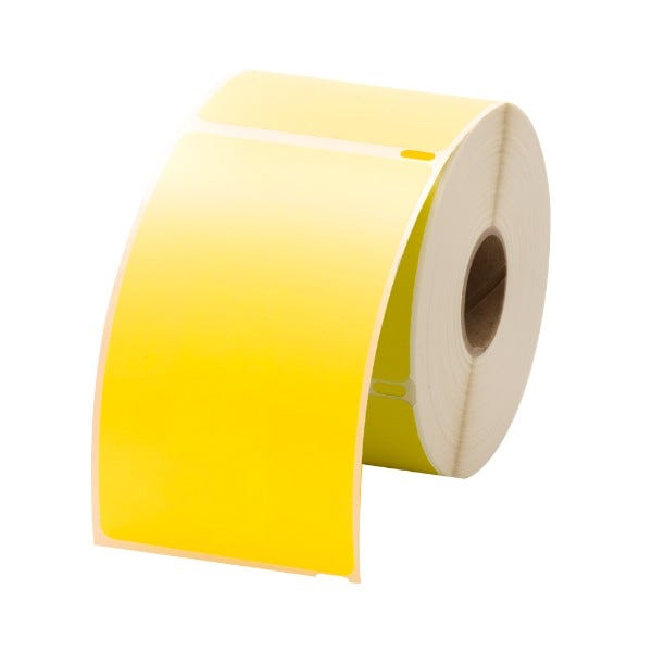 Dymo LV-30256 Yellow Compatible Shipping Labels