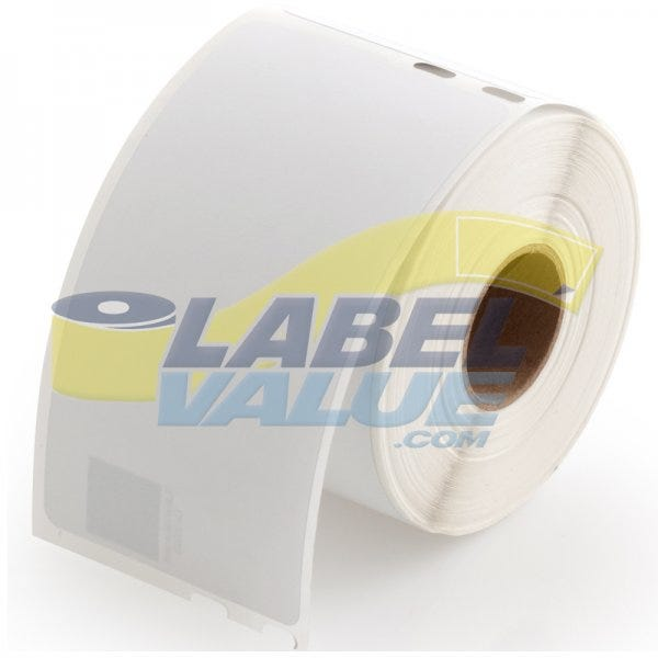 Seiko LV-SLP-SRLC Compatible Clear Shipping Labels