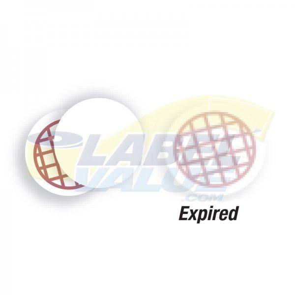 Dymo LV-30367 Self Expiring Stickers