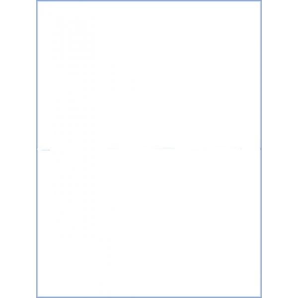 "Full Sheet Labels 8.5"" x 11"" for Laser or Inkjet Printers"