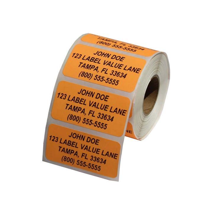 Custom Address Labels On Rolls