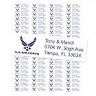U.S. Air Force Return Address Labels