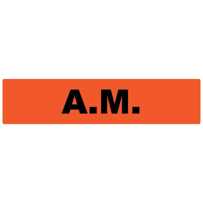 A.M. Medication Instruction Labels
