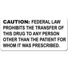 Controlled Substance Warning Labels