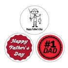 Father's Day Labels 1.5""