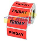 "Friday Inventory Label 2"" x 1"""