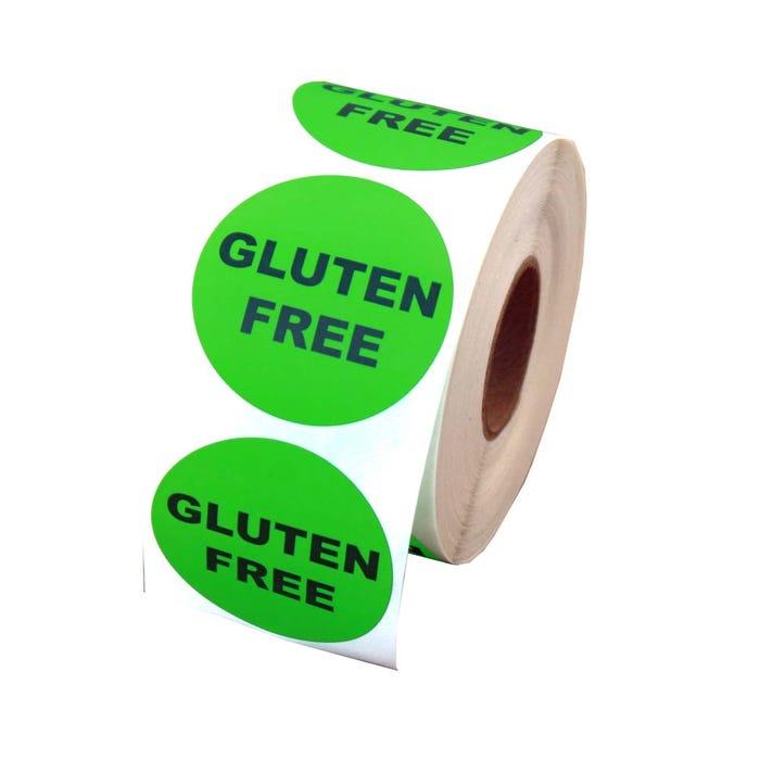 "Gluten Free Labels 1.5"""