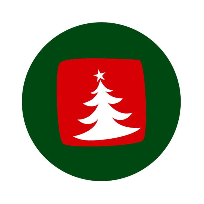 """Christmas Tree Labels 1.5"""""""