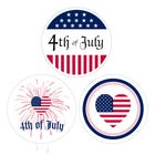 "4th of July Stickers 1.5"" Labels"