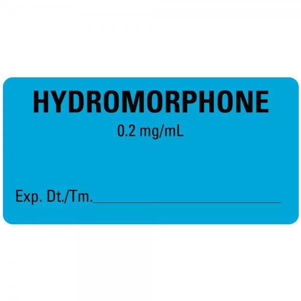 HYDROMORPHONE Medical Healthcare Labels