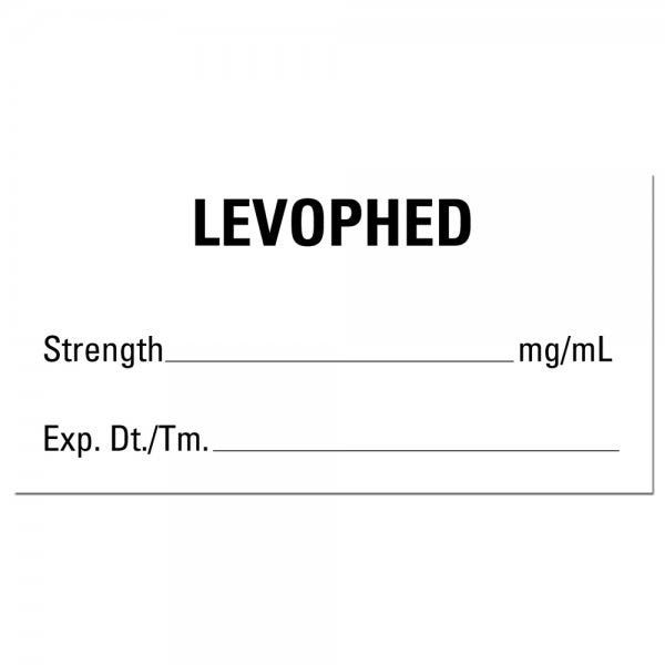 LEVOPHED Medical Labels