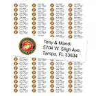 U.S. Marine Corps Return Address Labels