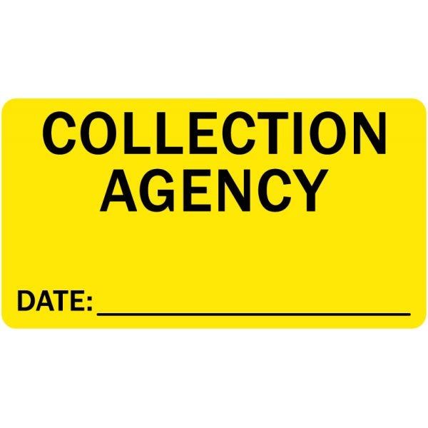 Collection Agency Labels