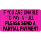Partial Payment Labels