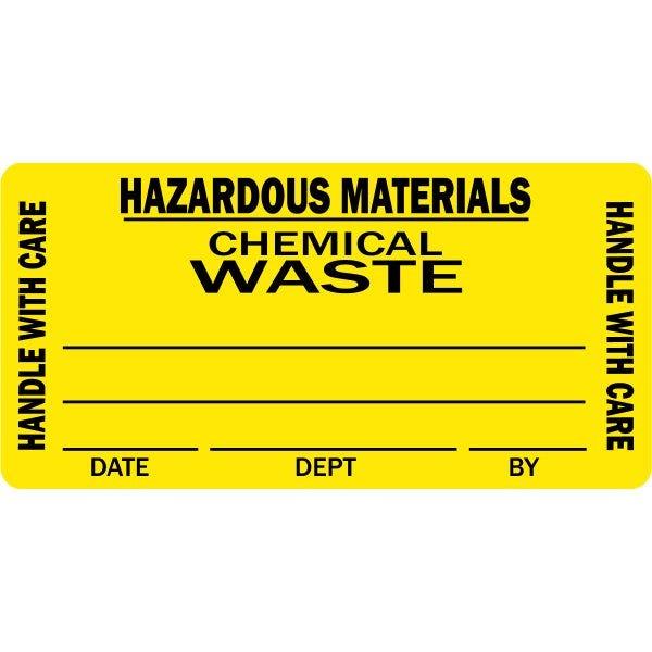 'Hazardous Materials' Medical Labels