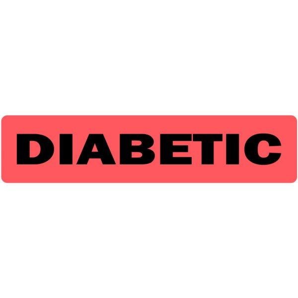 Diabetic Medical Labels