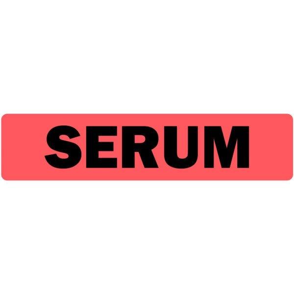 Serum Medical Labels