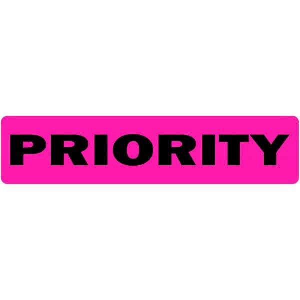 Priority Medical Labels