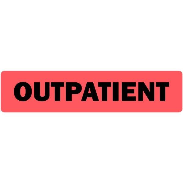 Outpatient Medical Labels