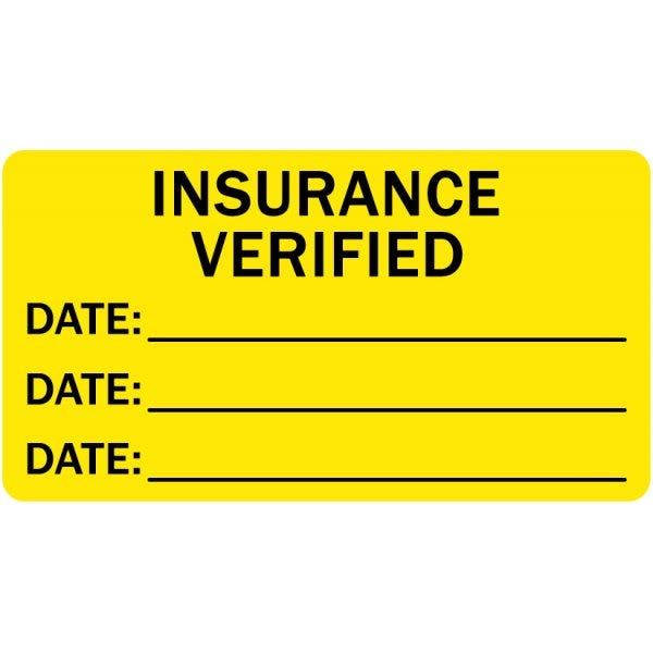 Insurance Verified Medical Labels