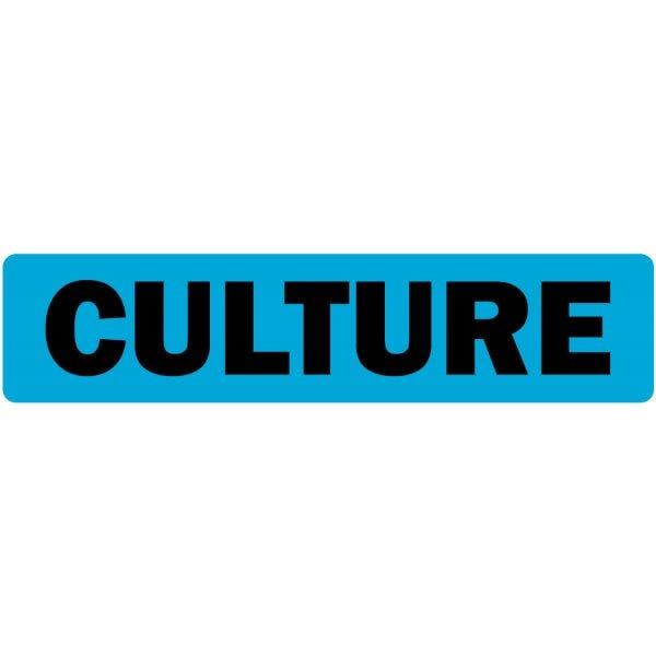 Culture Medical Labels